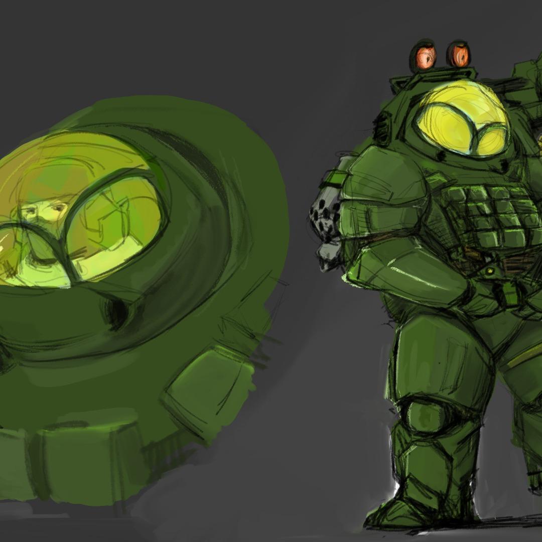 "RU-350 Fire support Suit ""Igorvich"""