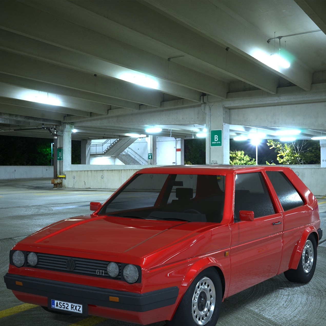 Volkswagen Golf (Mk2)