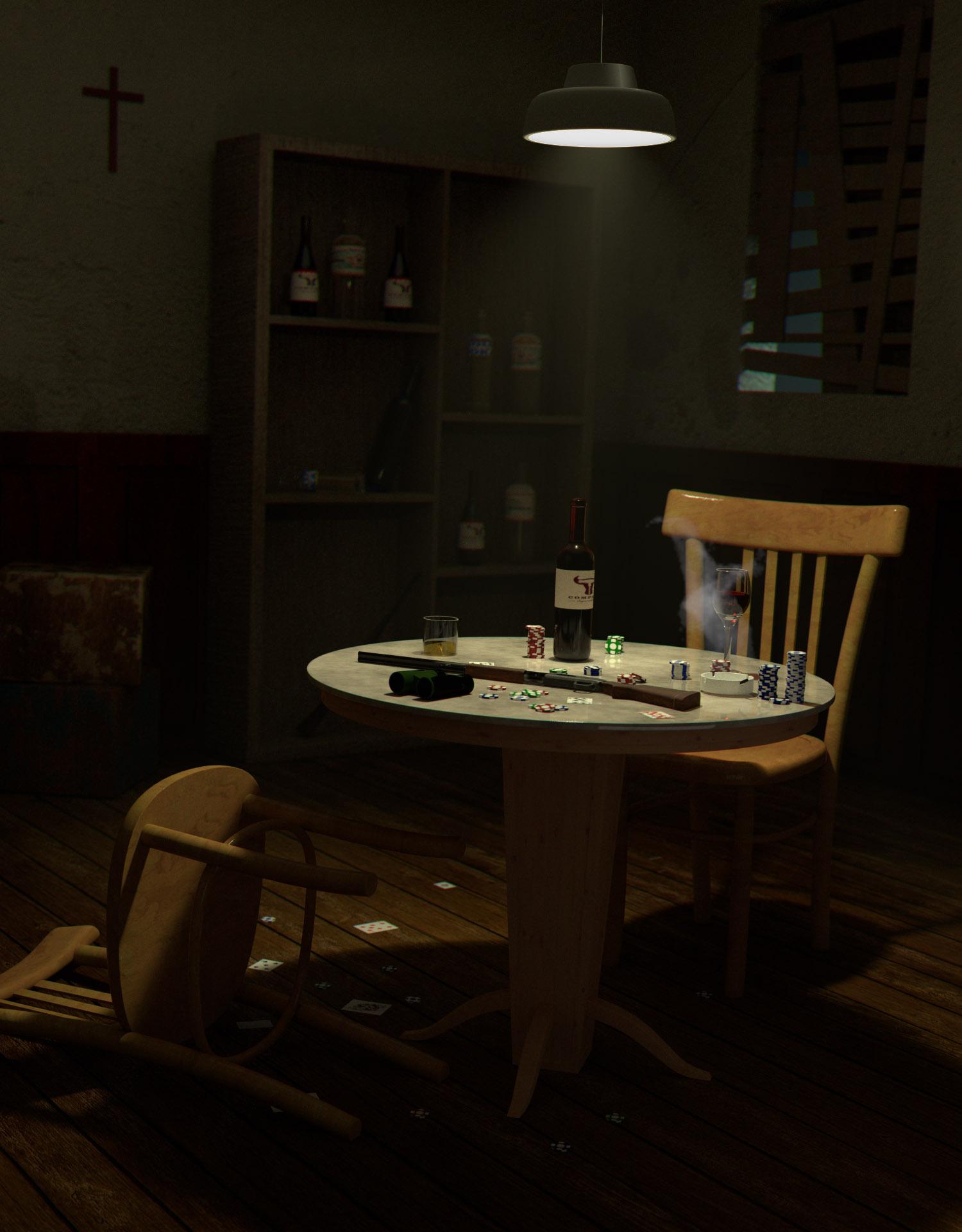 criminal's room