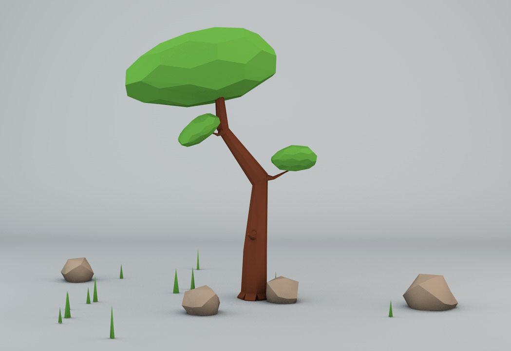 Lowpoly Tree