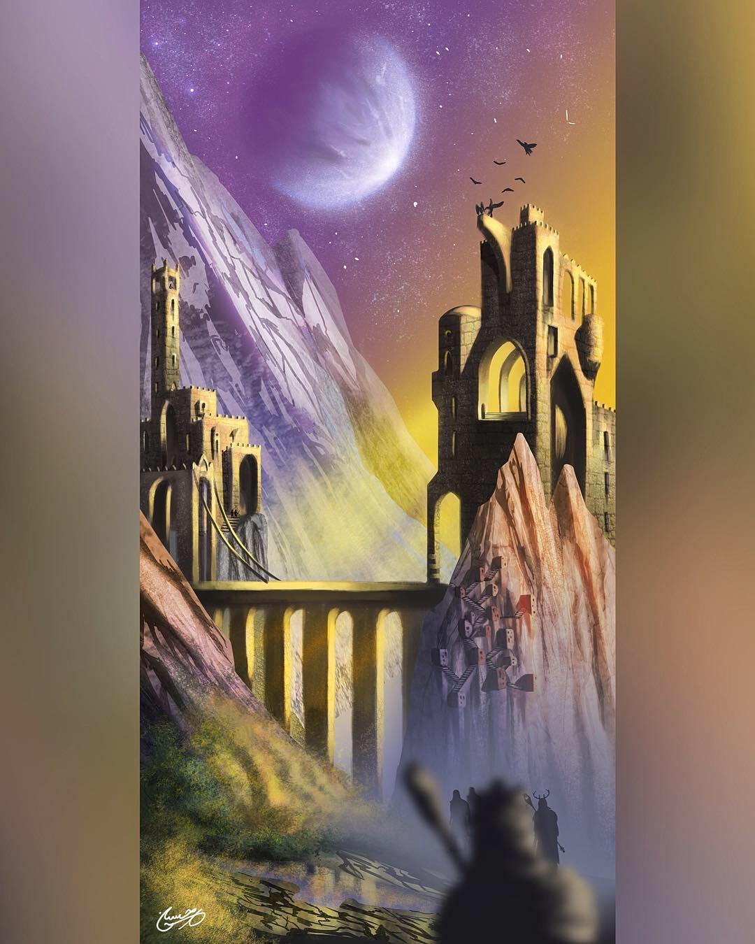 The Golden Castle of Sky Gate
