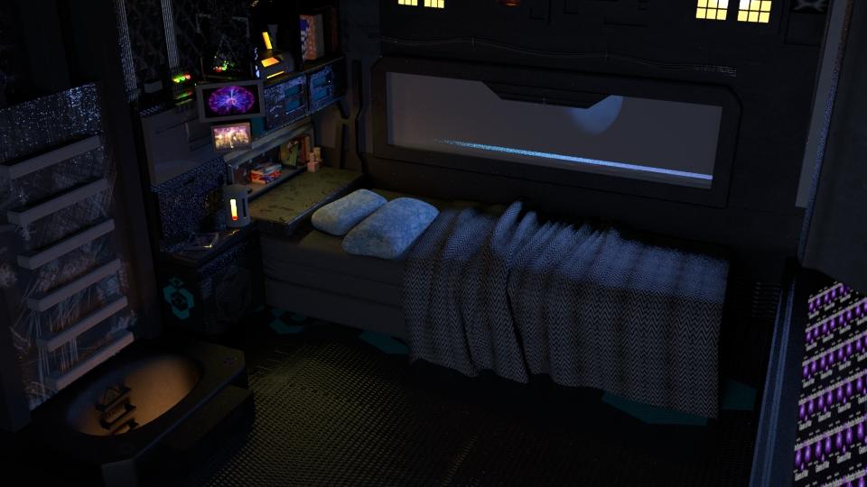 اتاقک سفینه فضایی