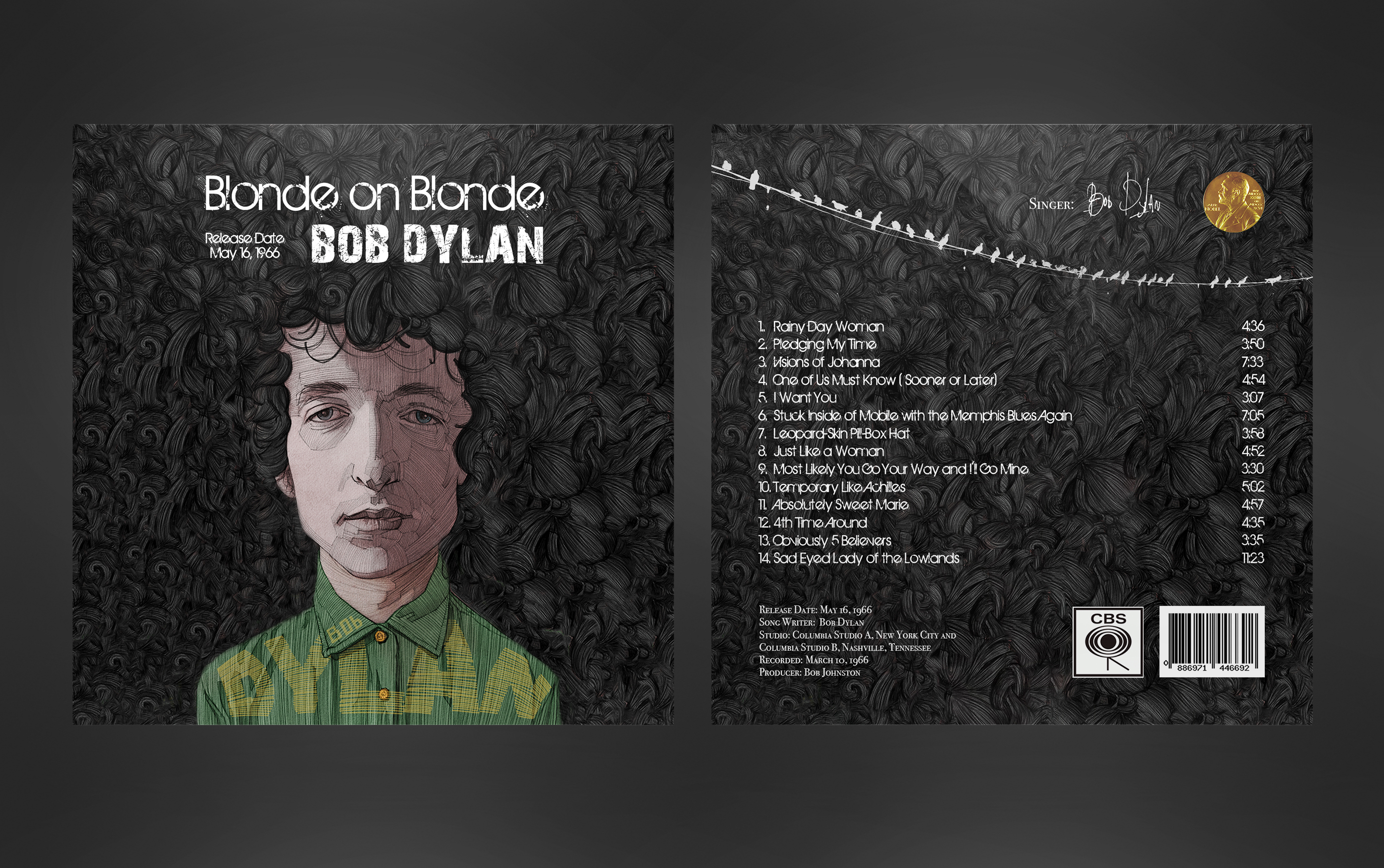 Bob Dylan's Album Cover