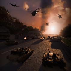 پوستر بازی نبرد فرماندهان