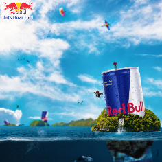 Redbull Photo Manipulation