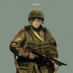 WW2 Girl