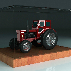 T40 Belarus tractor replica