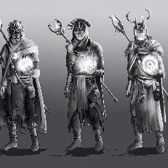 The Blind Sorcerer variations sheet