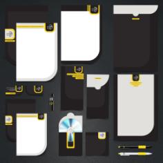 اوراق اداری طراحی شده برای استودیو عکاسی پرتره رخساره
