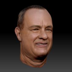 """اسکالپ و تسکتچر چهره """"تام هنکس"""" با استفاده از ZBrush"""