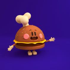clay burger