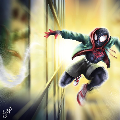 Miles Morales from Spider-Man : Into the Spider-Verse