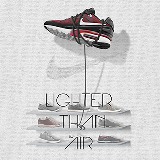 NIKE Air Max - Lighter Than Air