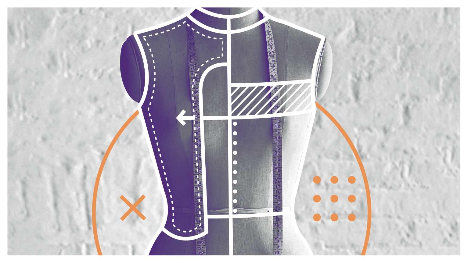 معارفه و ورکشاپ دوره الگوسازی و دوخت پوشاک زنانه به روش مولاژ