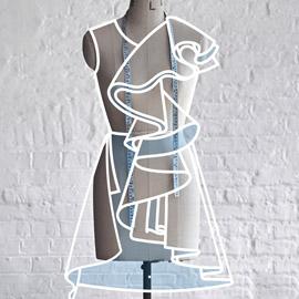 الگوسازی و دوخت پوشاک زنانه به روش مولاژ