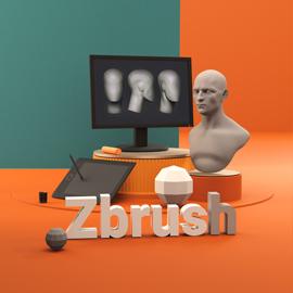 دوره مدلسازی پرتره در Zbrush
