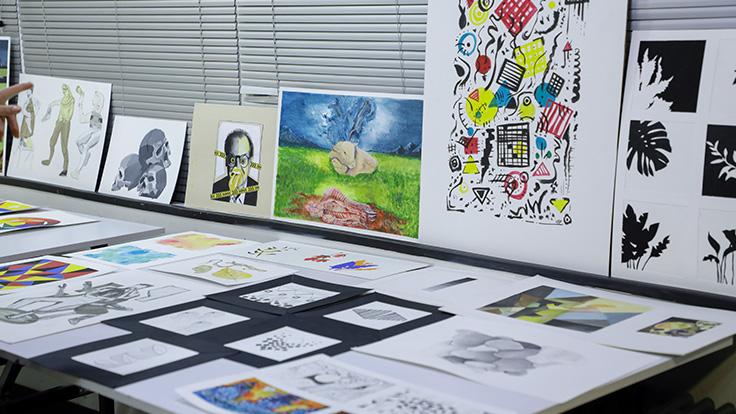 گزارش ژوژمان ترم یک رشته تصویرسازی