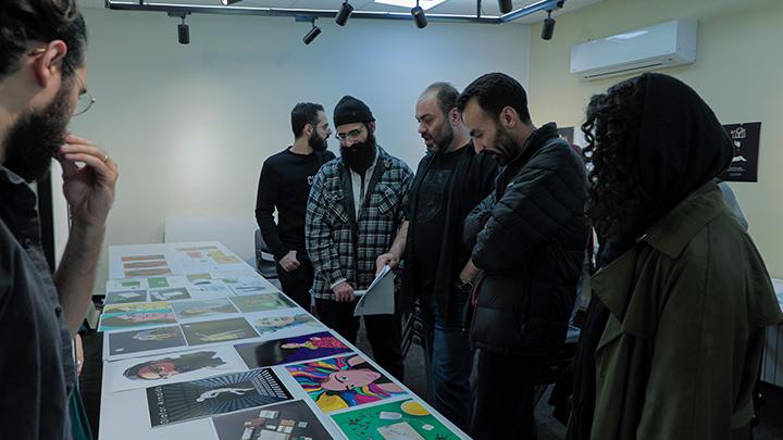 گزارش ژوژمان ترم دوم رشته «طراحی گرافیک»