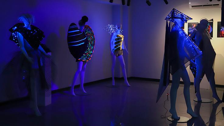 گزارش افتتاحیه نمایشگاه آثار هنرجویان دوره «کالکشن مفهومی»
