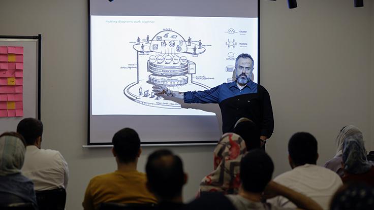 گزارش کارگاه «Presentation Design Skills»