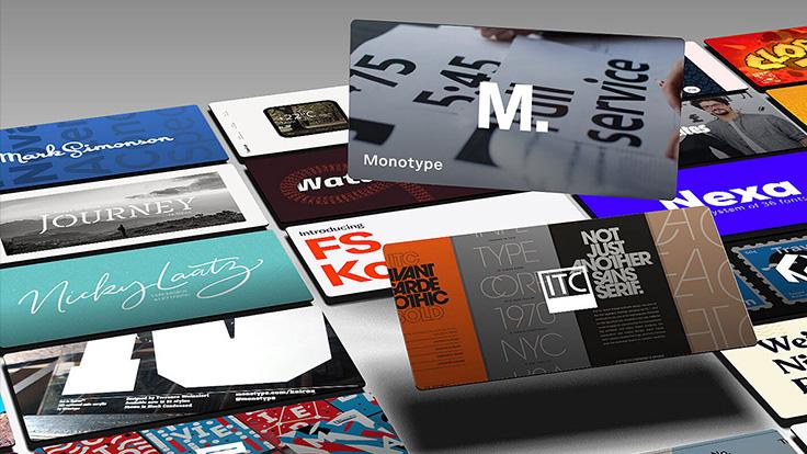 ارائه سرویس فونت جدید توسط Monotype