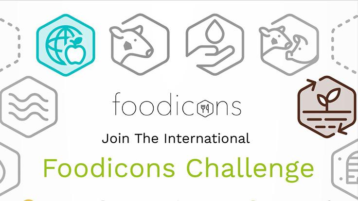چالش بین المللی طراحی آیکون غذا